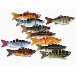 Leurre de pêche articulé -...